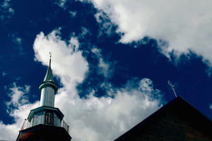 Mosque in Ivye Belarus