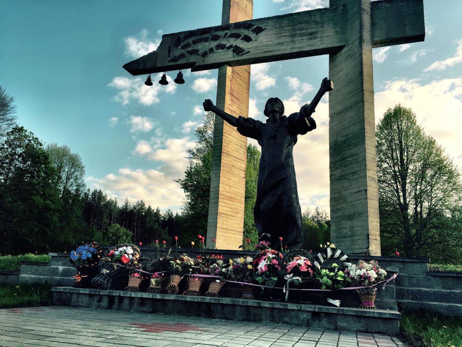 Memorial Shunevka Belarus