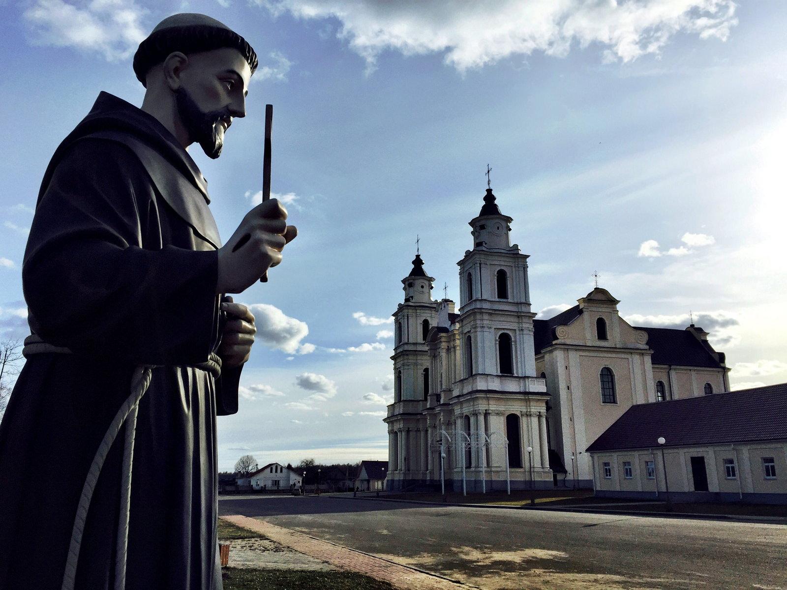 Church of the Bernardines in Budslau Belarus
