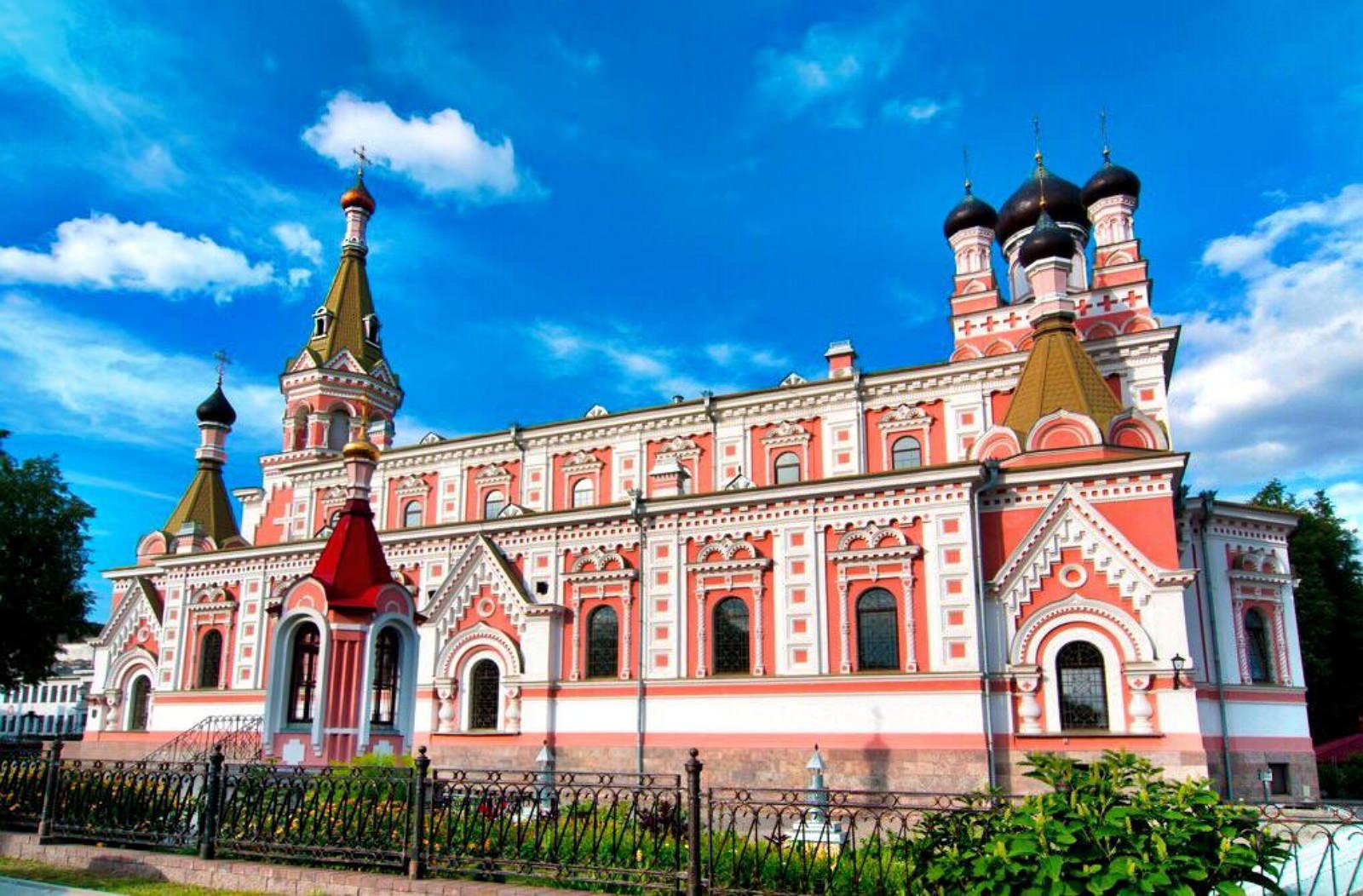 Mariä-Schutz Church in Grodno Hrodna Belarus