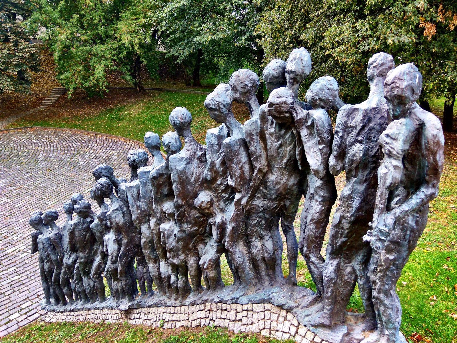Minsk Ghetto Monument Belarus