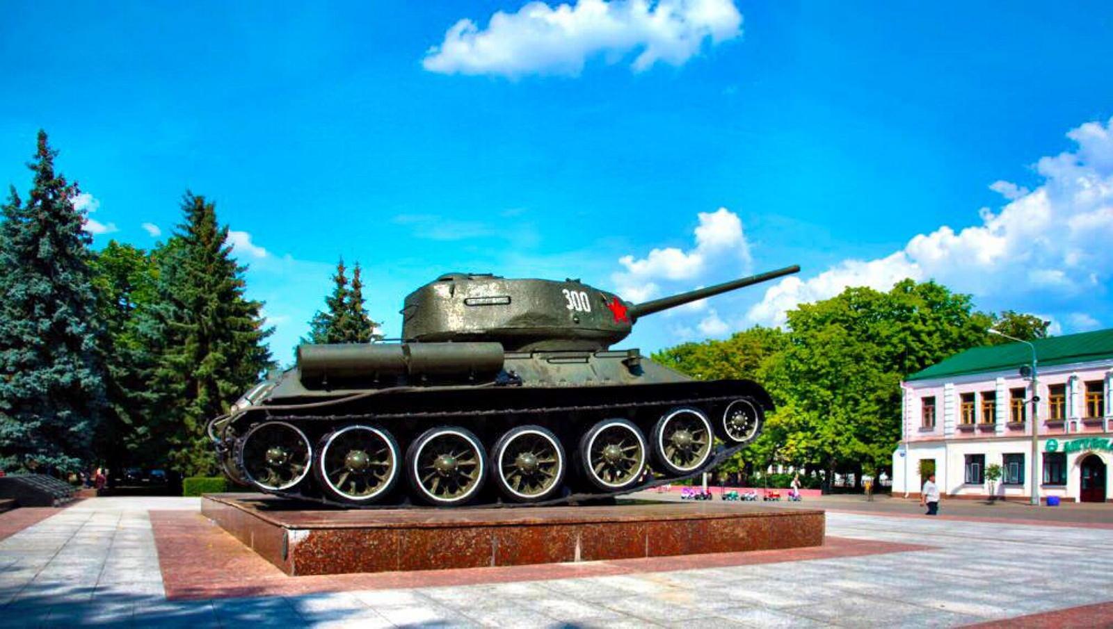 Tank in Bobruisk Belarus