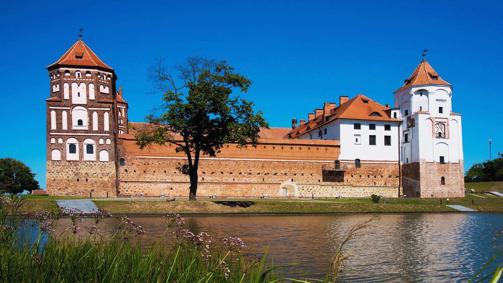 Castle in Mir Belarus