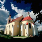 kCatholic church Iwye Iwje Belarus