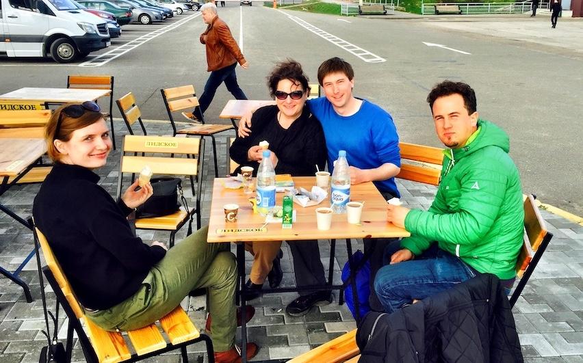 Two Swiss Adventurers in Belarus