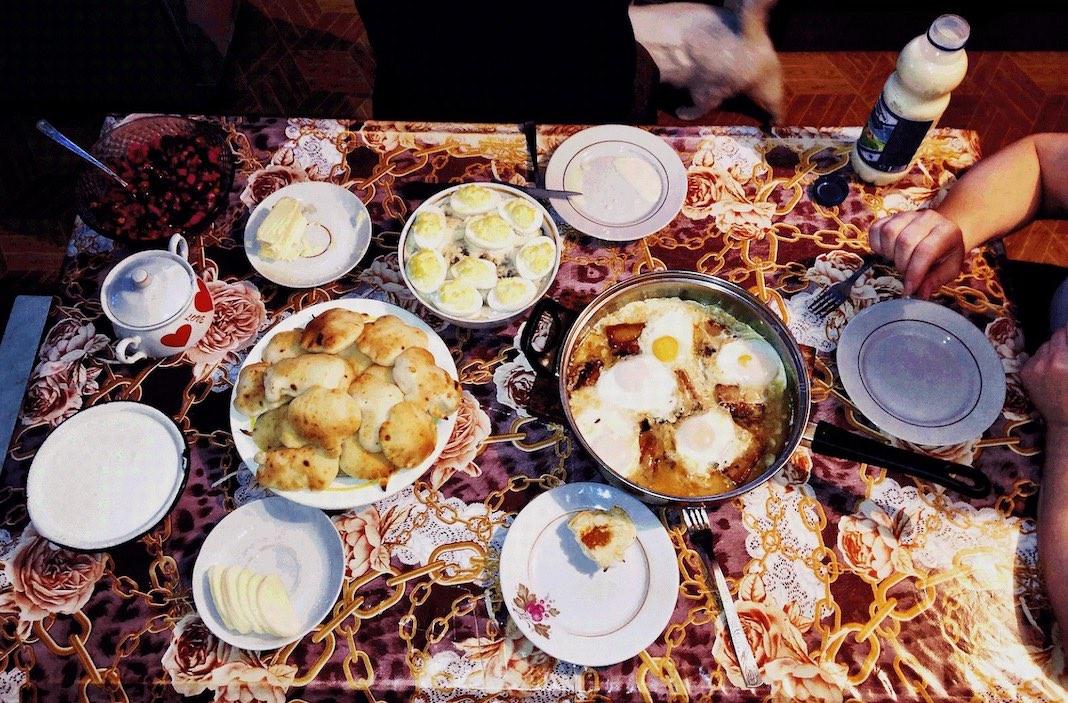 Belarusian breakfast Belarus
