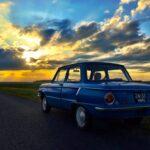 Vintage Soviet Car Belarus