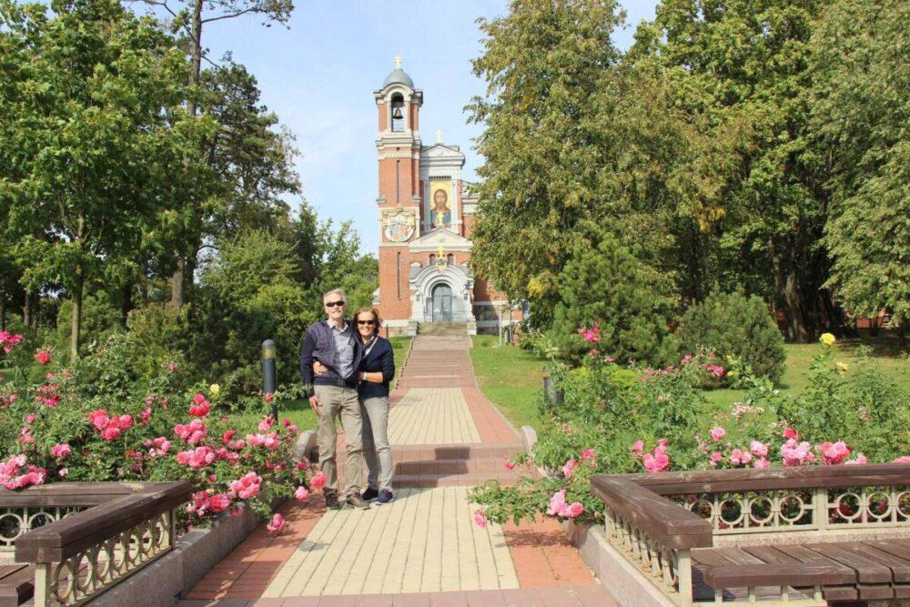 Tourists in Belarus