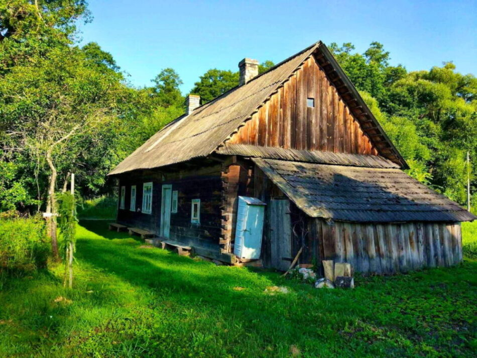 The Eco-house in the Białowieża Forest | Photo: Alexander Pekach