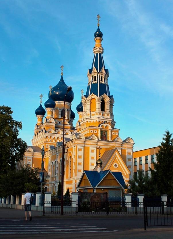 St. Nicholas Cathedral in Brest | Photo: Svetlana Abehtikova