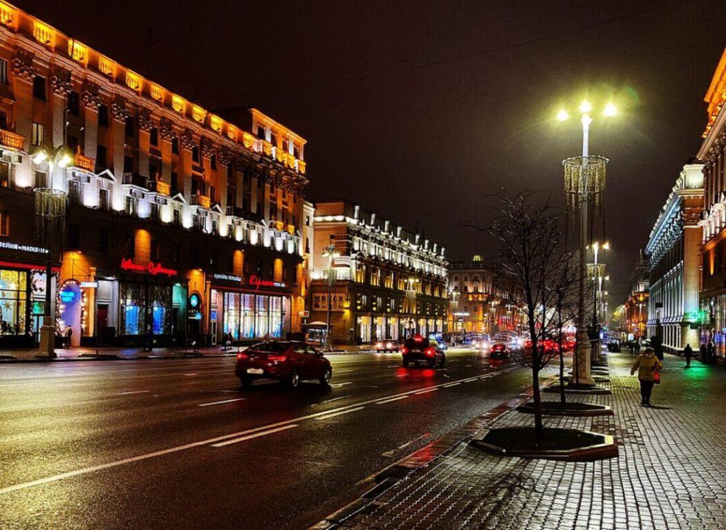 Minsk at night | Photo: Svetlana Abehtikova