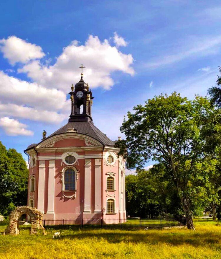 Holy Trinity Church in Volchin near Brest Belarus