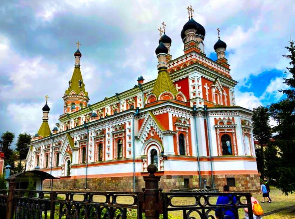 Pokrovsky Cathedral Grodno Belarus