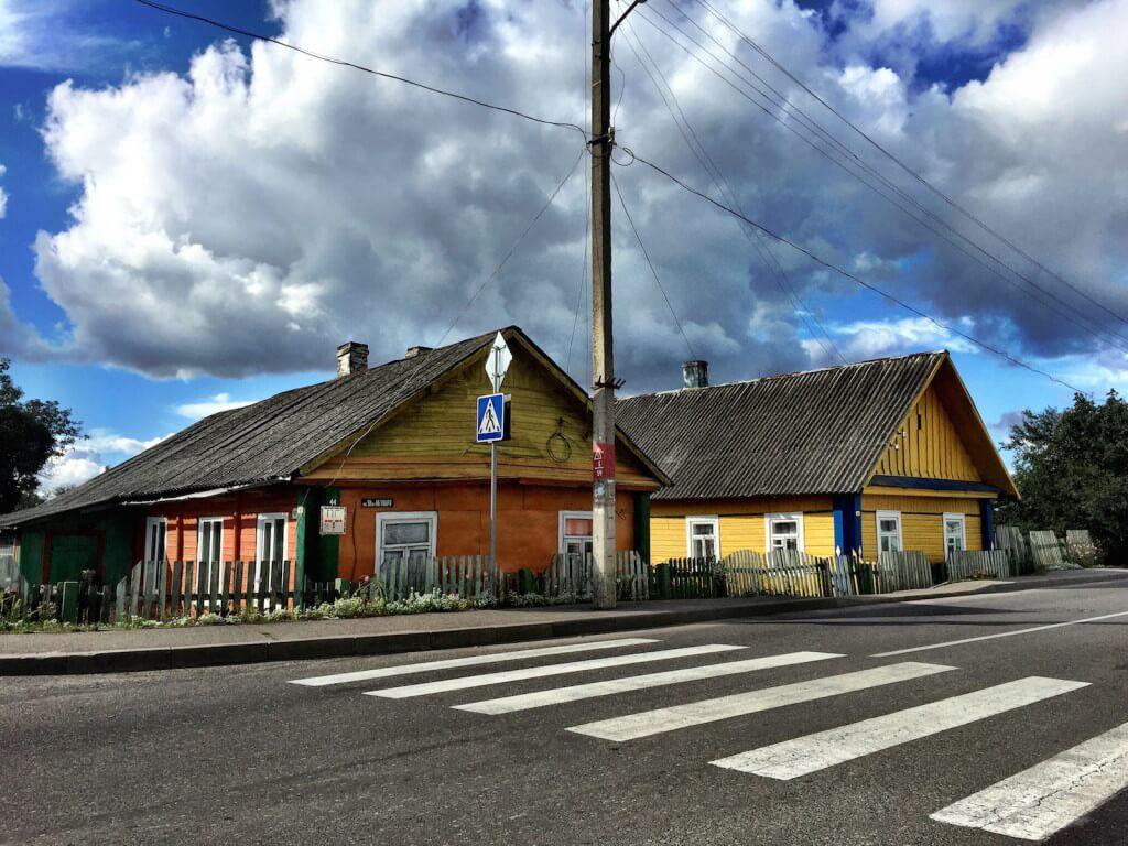 Village atmosphere in Turov (Turau) Belarus