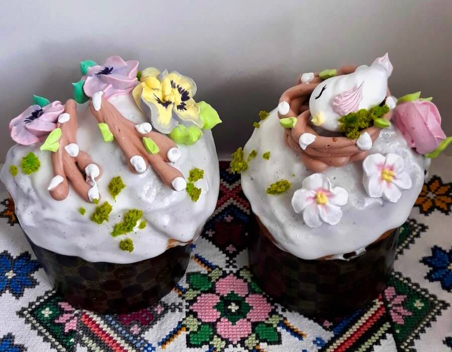 Kuliches (Easter cakes) Belarus