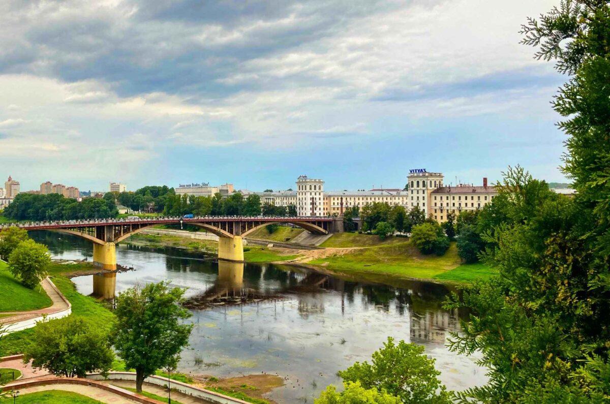 Bridge over the Western Dvina in Vitebsk | Photo: Sveta Abehtikova