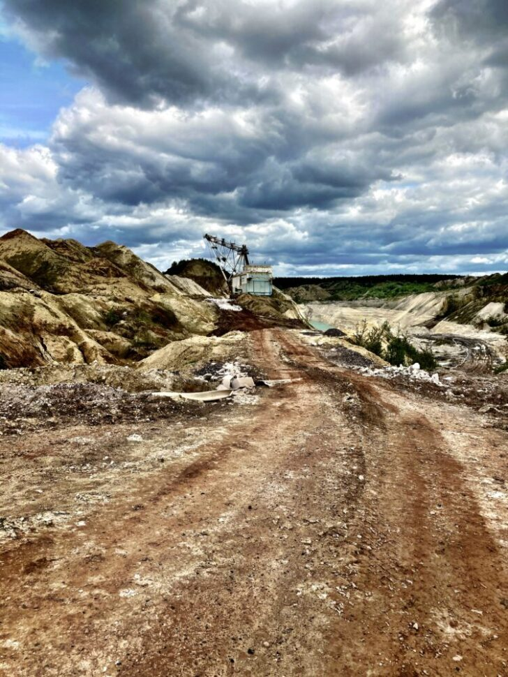 Chalk mining | Photo: Sveta Abehtikova