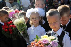 First day of school 1st September Belarus